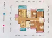 140.26平,4房2厅2卫