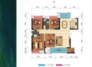 A-C户型133平4房2厅2卫