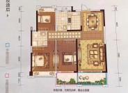 124.27平,3房2厅2卫