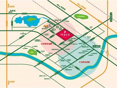 茉莉公馆交通图