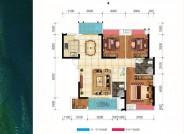 D户型123.20平3房2厅2卫